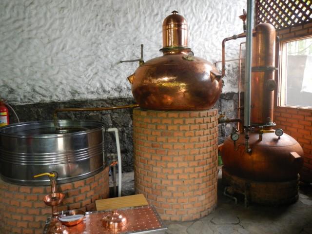 Rum distillerij