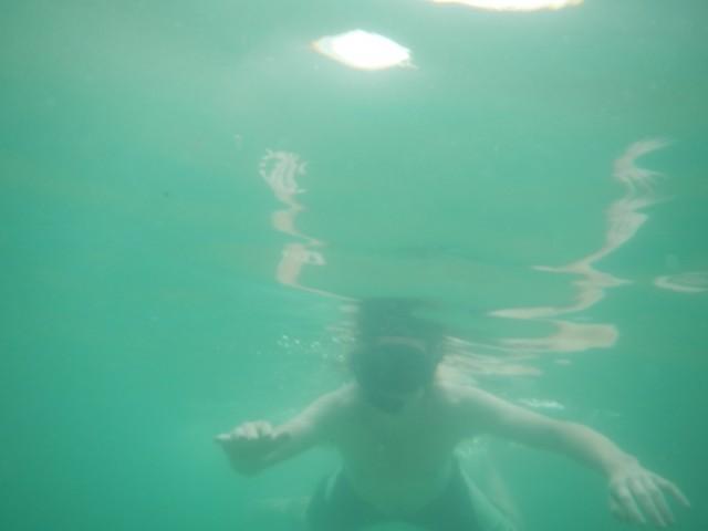 Kay onderwater