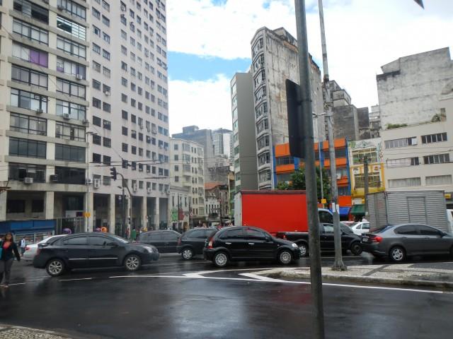 Hoog- en laagbouw in Sao Paulo