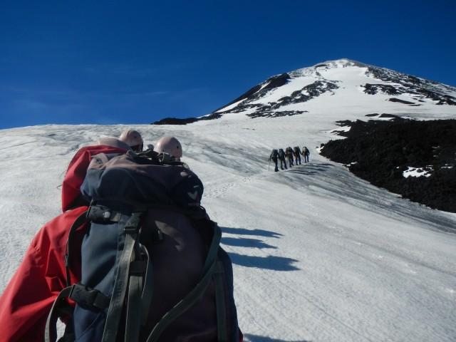Pucon (3) Villarrica Uphill