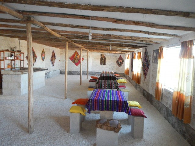 Salar de Uyuni (46) Zout Hotel