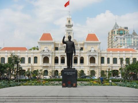 Standbeeld van Ho Chi Minh