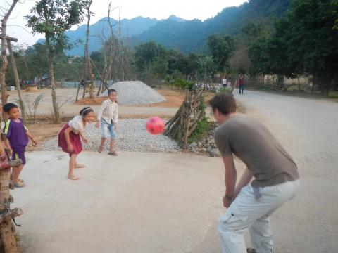 Phong Nha volleybal spelen