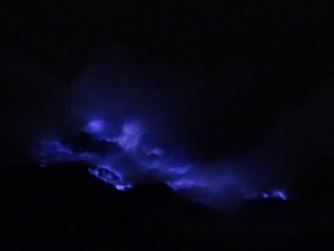 Blue fire van Ijen